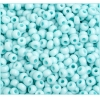 Ponybead 6/0 Chalk Light Turquoise Loose Solgel